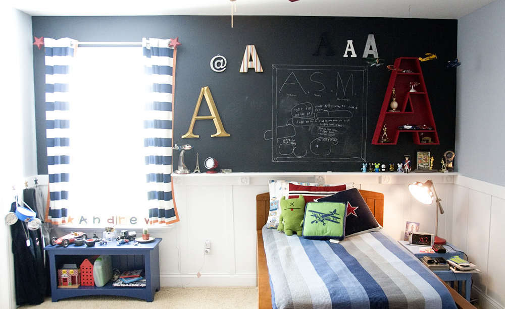 bedroom blackboards