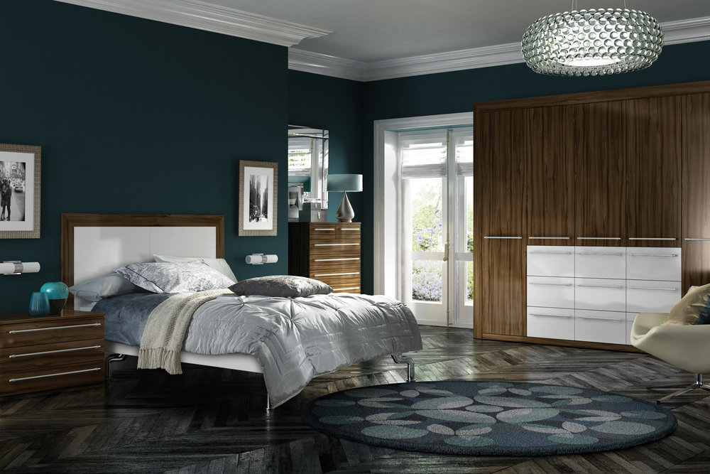Modern fitted furniture
