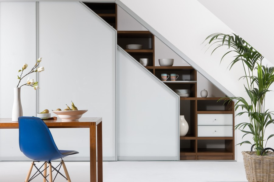 Under stairs fitted furniture