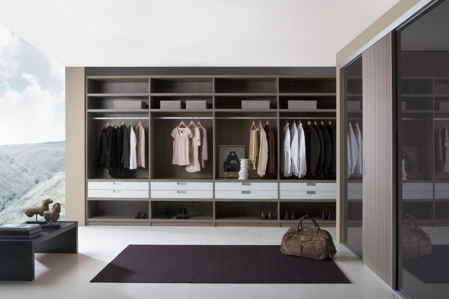 Custom walk in wardrobes
