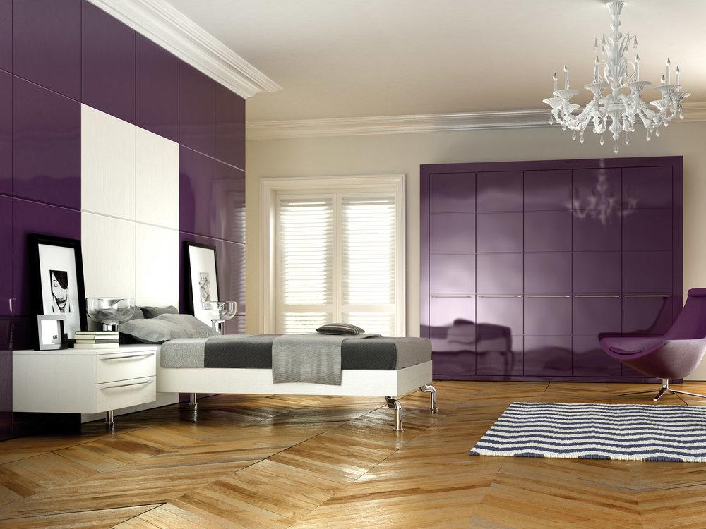 Custom fitted bedroom furniture