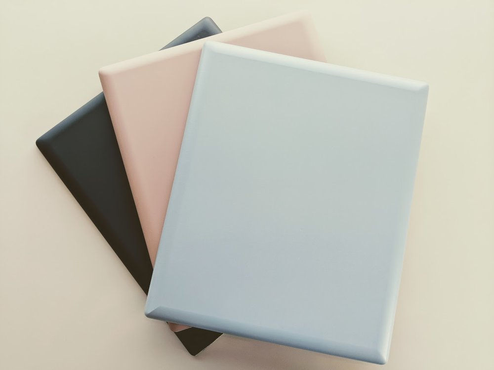New matte colours available at Deane