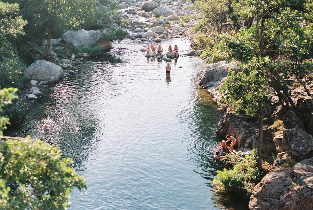 Trekking Ota and Evisa Corsica