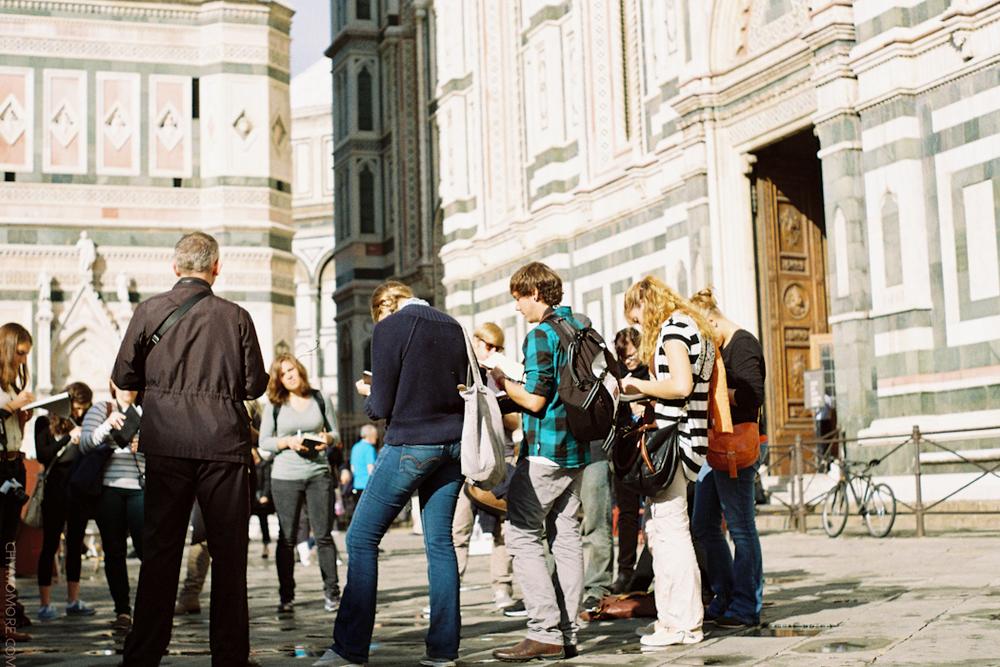 Sketching the Duomo of Firenze
