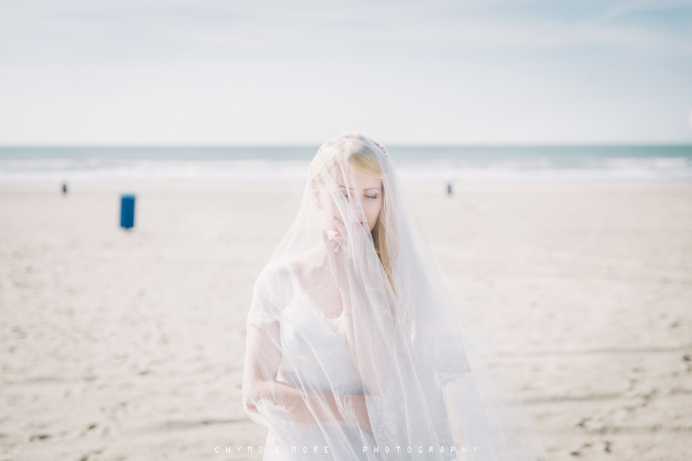 bridal portrait film photography Netherlands