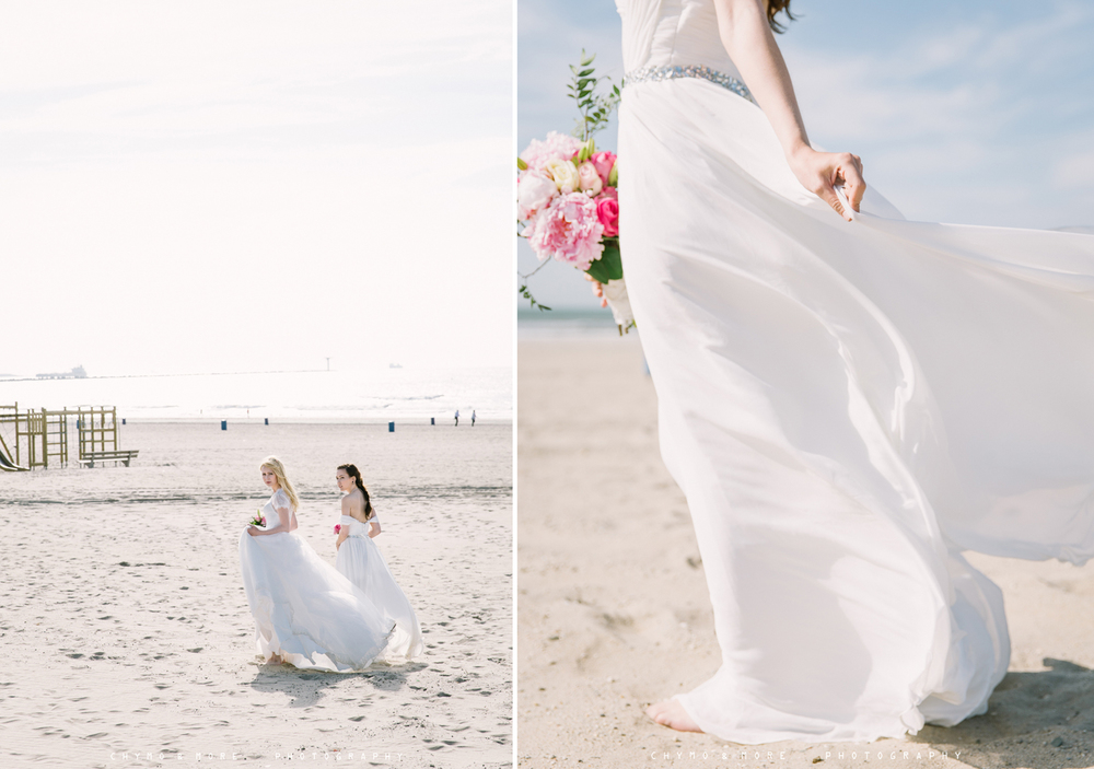 beach wedding inspiration Netherlands