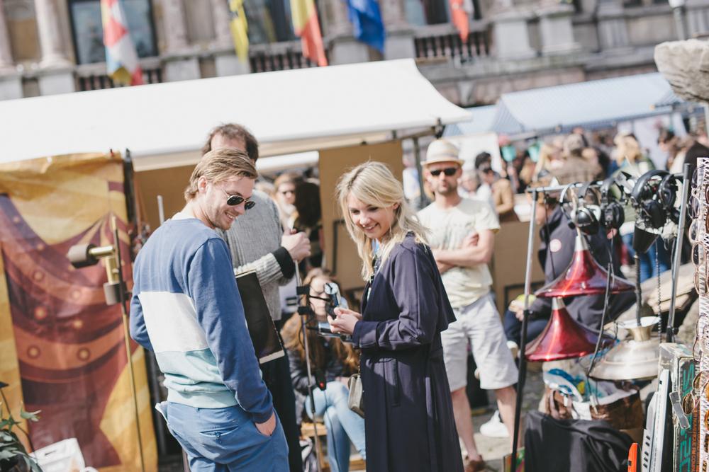 hipster market Antwerp