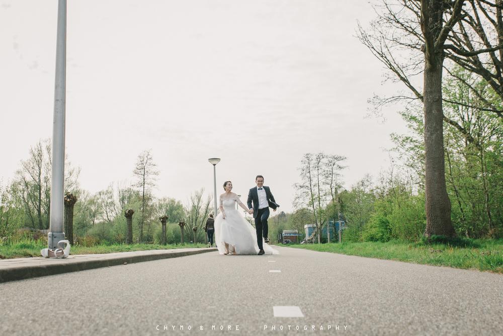 Buidsfotografie kersenbloesempark Amstelveen