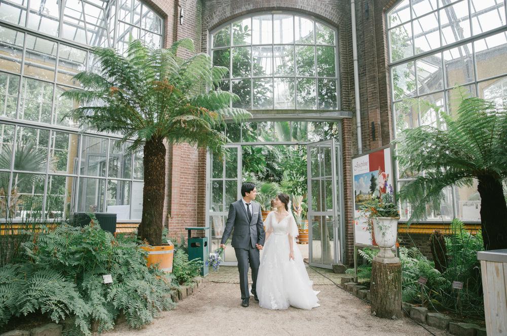 trouwfotograaf-hortus-botanicus-amsterdam