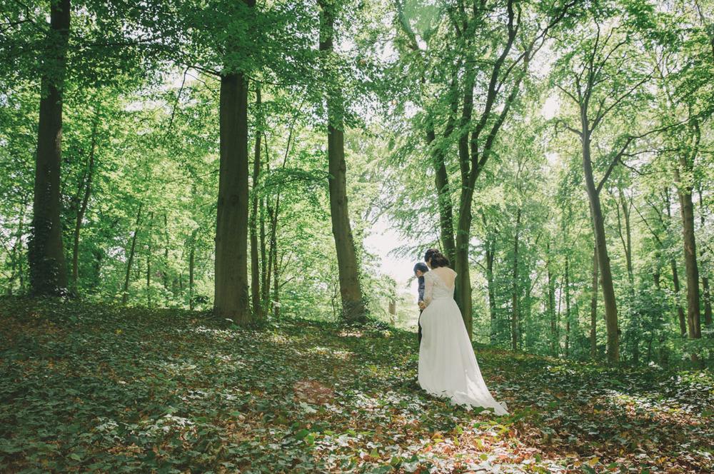 rustic-forest-bruiloft-den-haag