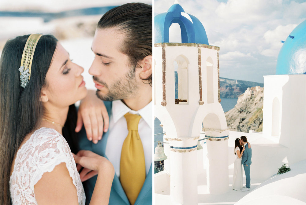 Fine Art Wedding Photographer Santorini, Mykonos, Crete, Greece
