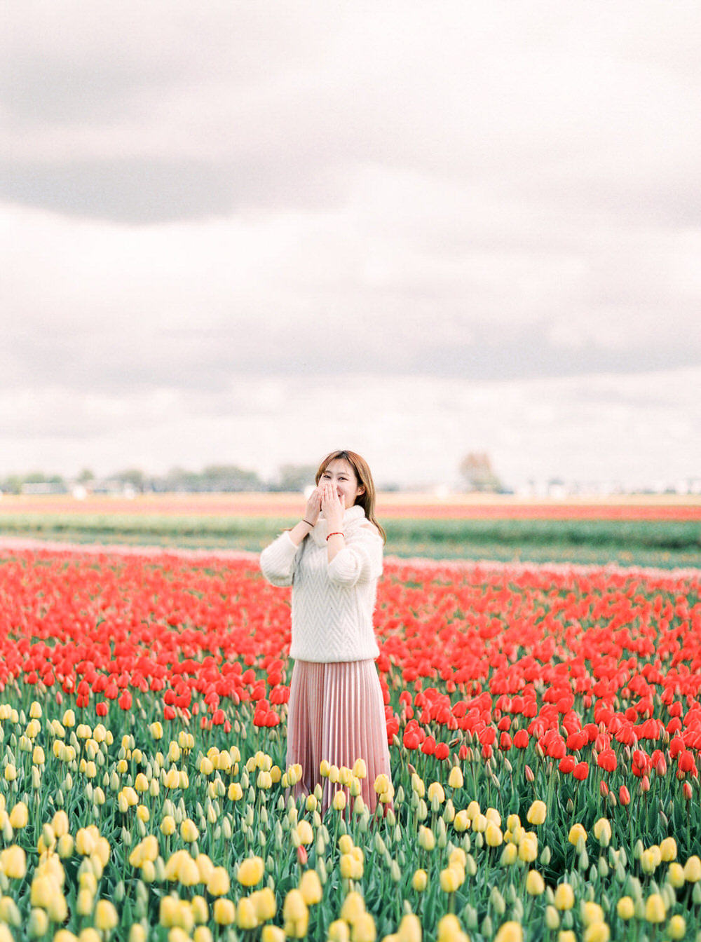 Keukenhof Lisse Tulip Field Portrait Photography - CHYMO & MORE