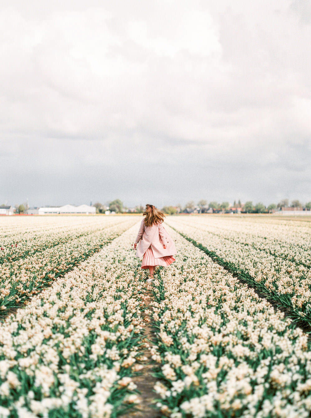 Netherlands Amsterdam Flower Field Portrait Photography - CHYMO