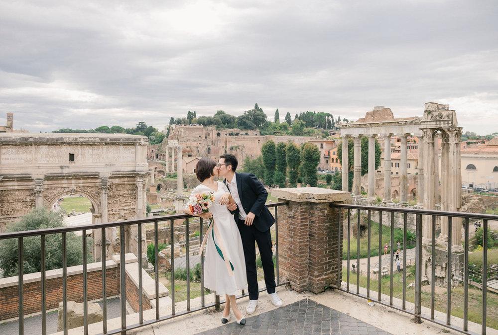 Rome Fine Art Wedding Photographer CHYMO & MORE