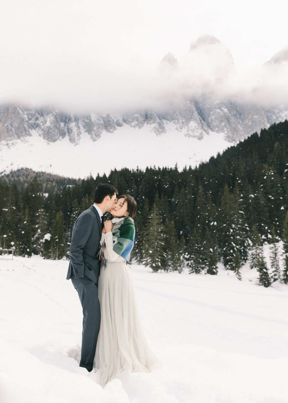 Destination Engagement Photoshoot in Dolomites Italy by CHYMO &