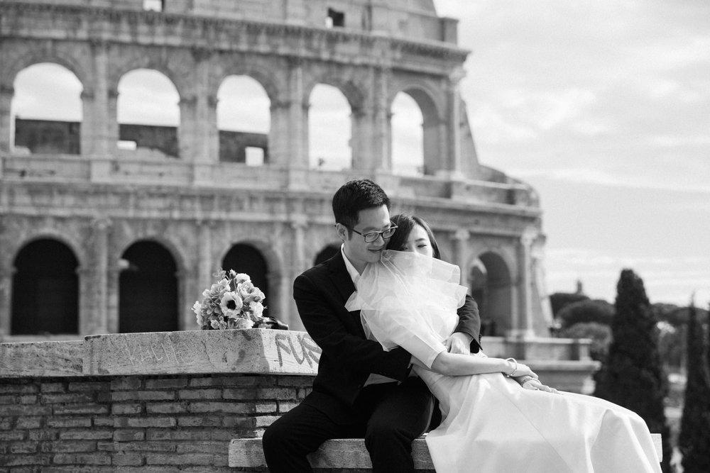 roman holiday prewedding   rome, italy
