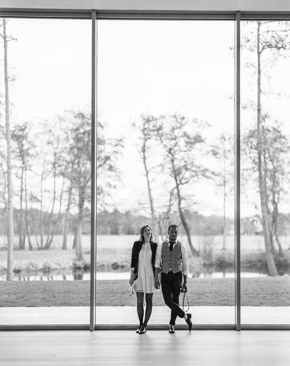 Modern art museum engagement   the hague, netherlands