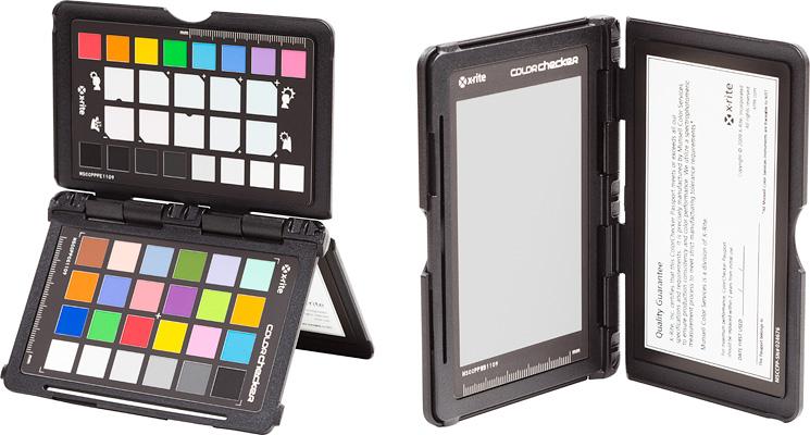 X-Rite Color Checker Passport vhodný na farebnú kalibráciu fotoaparátu.