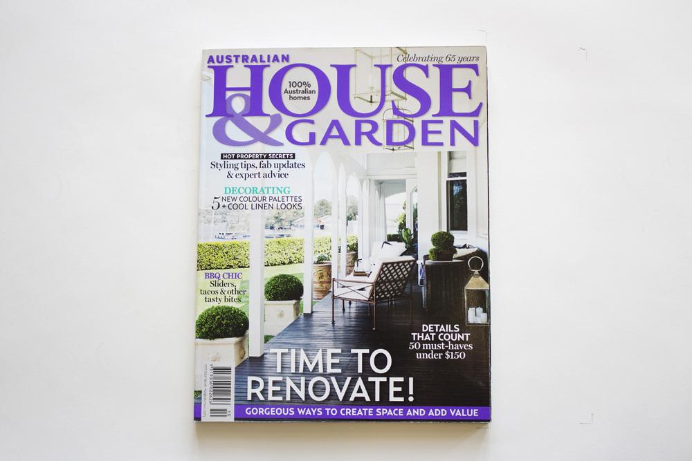 Australian House & Garden - Oct 2013