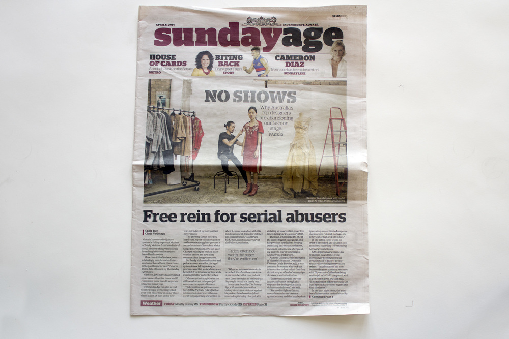 Sunday Age - 6 April 2014