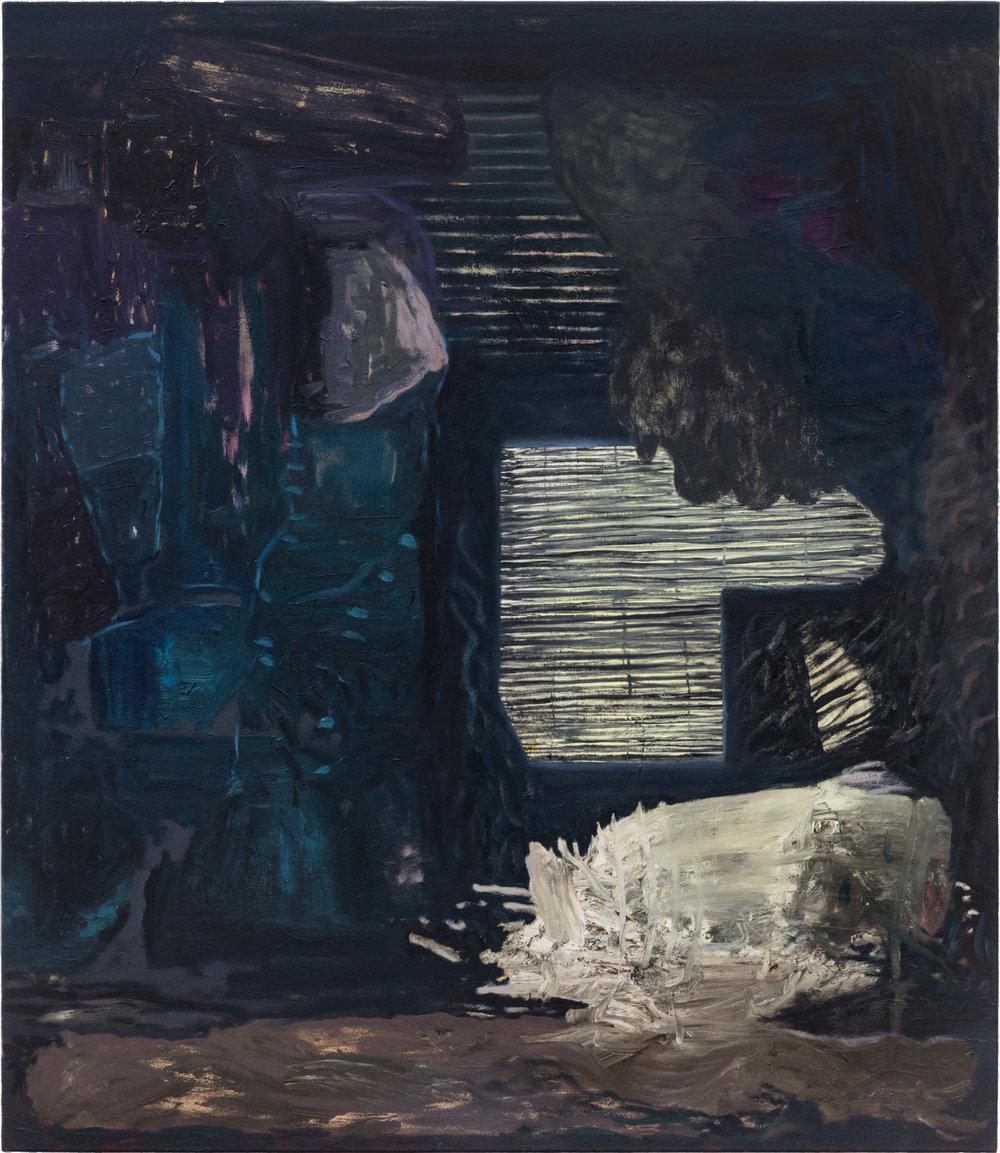 Ohne Titel, Öl auf Leinwand, 150 x 130 cm