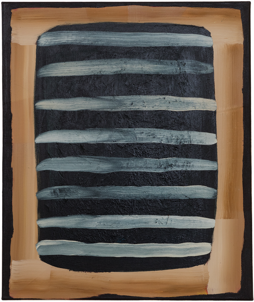 Ohne Titel, Öl auf Leinwand, 60 x 50 cm, 2018