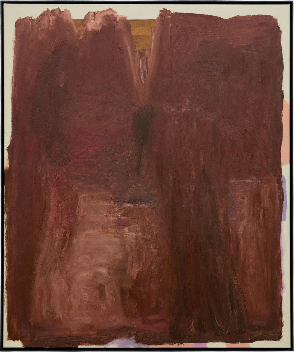 Ohne Titel, Öl auf Leinwand, 120 x 100 cm