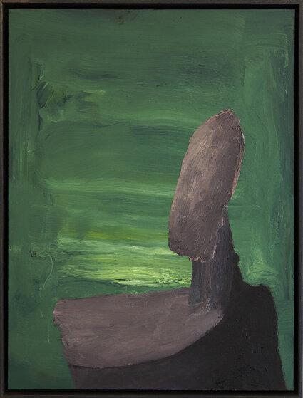 Ohne Titel, Öl auf MDF, 40 x 30 cm