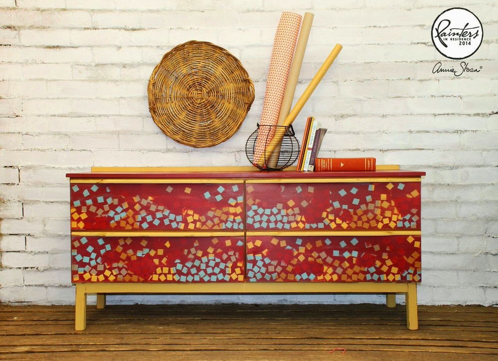 Beau Ford - Geometric Side Board