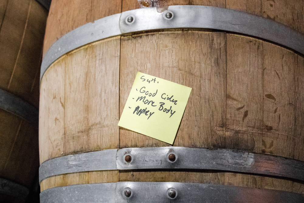 New flavors developed in the barrel, creating more complex and vinous flavors in the beer.