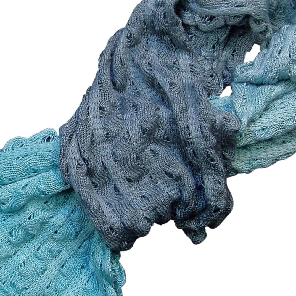 Susan-Holton-Knitwear-ripple-scarves-teal-turquoise-detail.jpg
