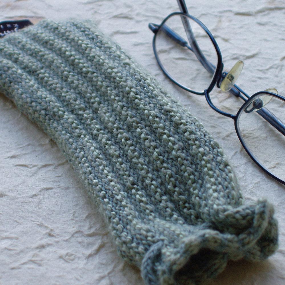 Susan Holton Knitwear glasses case - aqua.jpg
