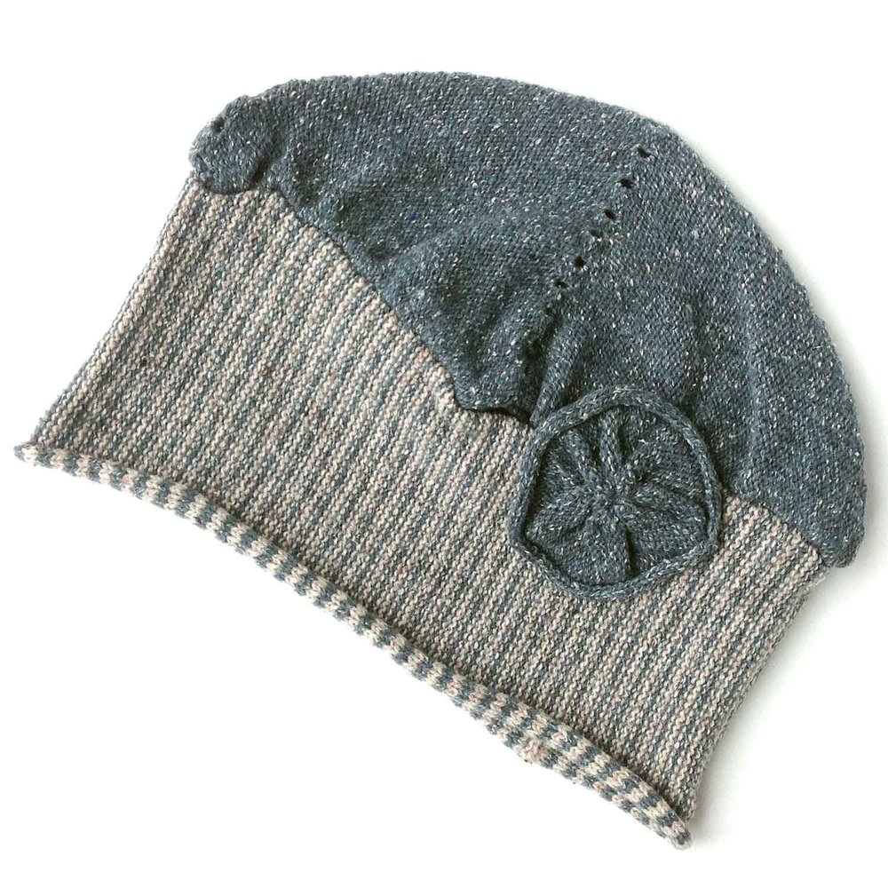 Hat in wool and silk £45.00