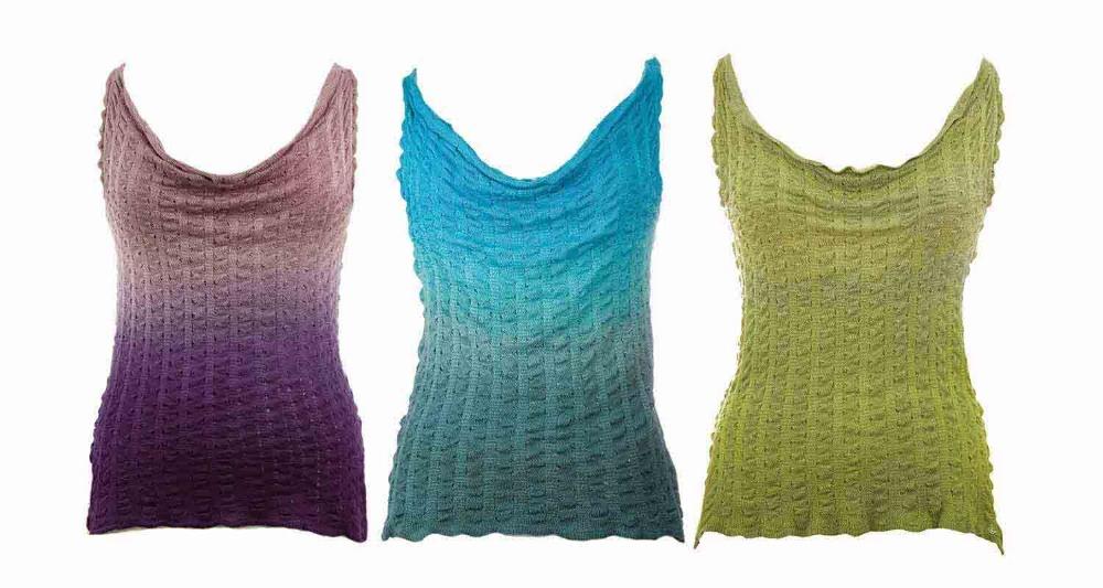 Luxury-silk-knitwear-hand-painted-tops