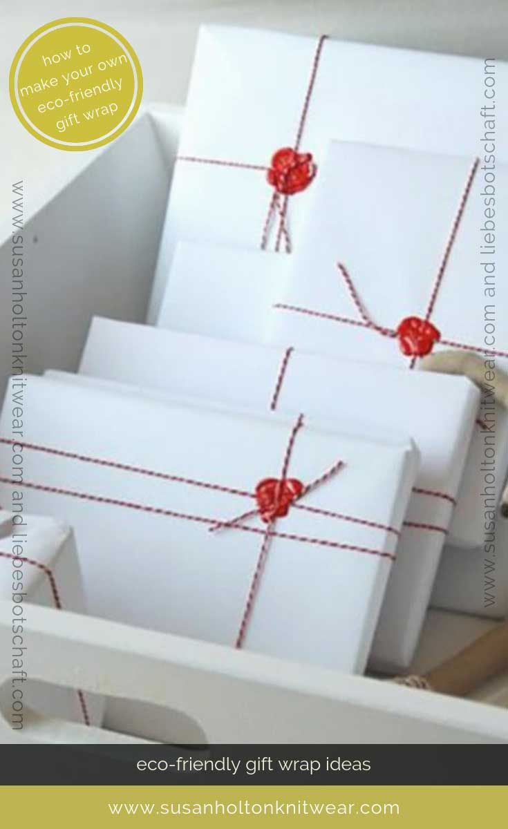How to DIY your own stylish gift wrap with butcher's twine and sealing wax - creative and eco-friendly. Fun and #sustainable easy ways to #wrap your gifts #eco #friendly #DIY #handmade #Christmas #gift #wrapping #ideas