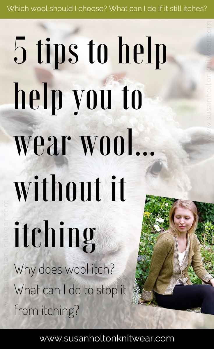5 Tips To Help You Wear Woollen Knits How Do I Make My Wool Jumper Less Itchy Susan Holton Knitwear Contemporary British Designer Knitwear