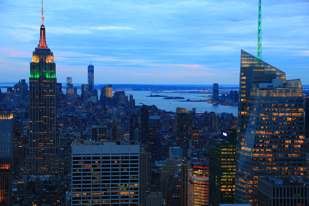 View from the Top Of the Rock - Midtown, Manhattan (Entry at Rockfeller Plaza - 47th-50th and Fifth Avenue)
