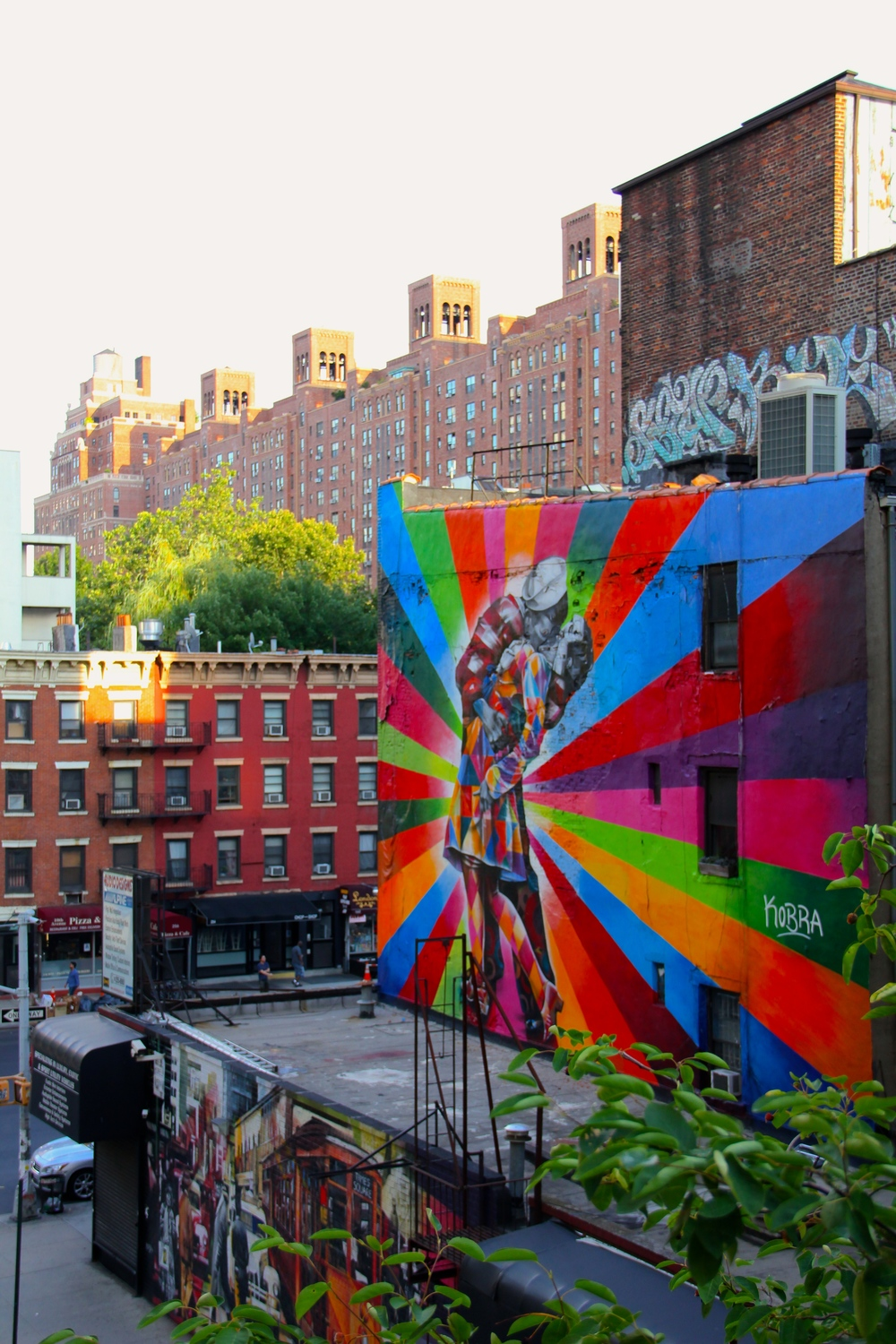 The High Line - Meatpacking District, Manhattan - West 23rd St and 10th Avenue