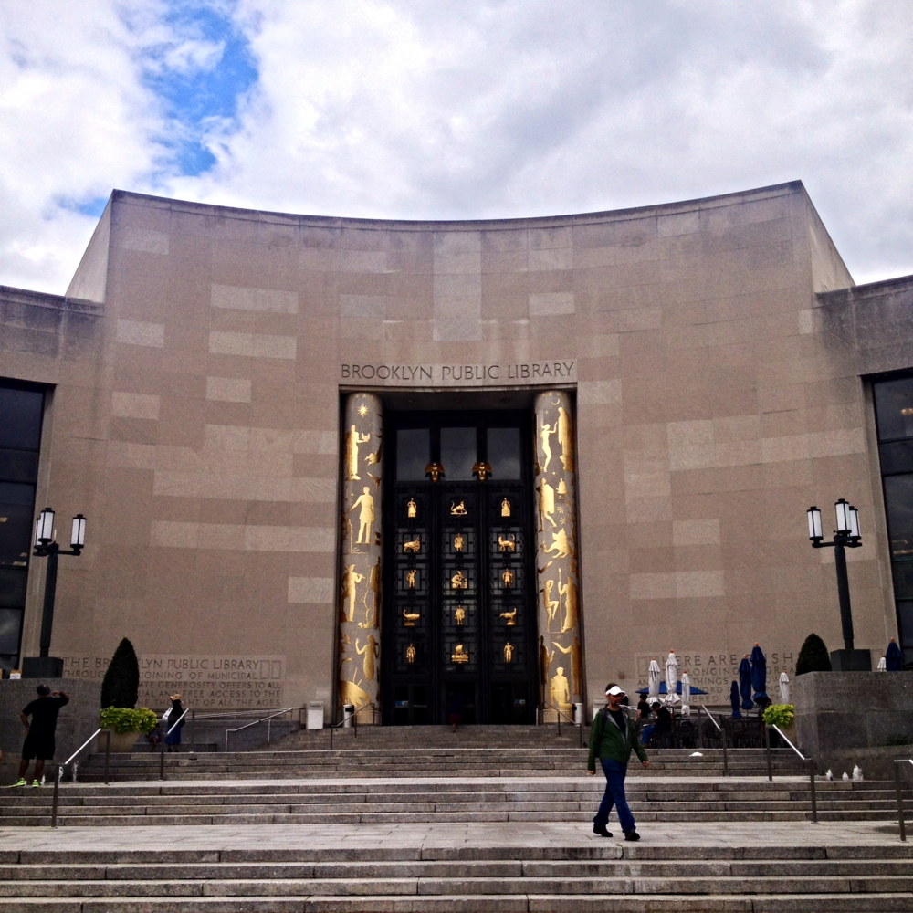 View of the Brooklyn Public Library