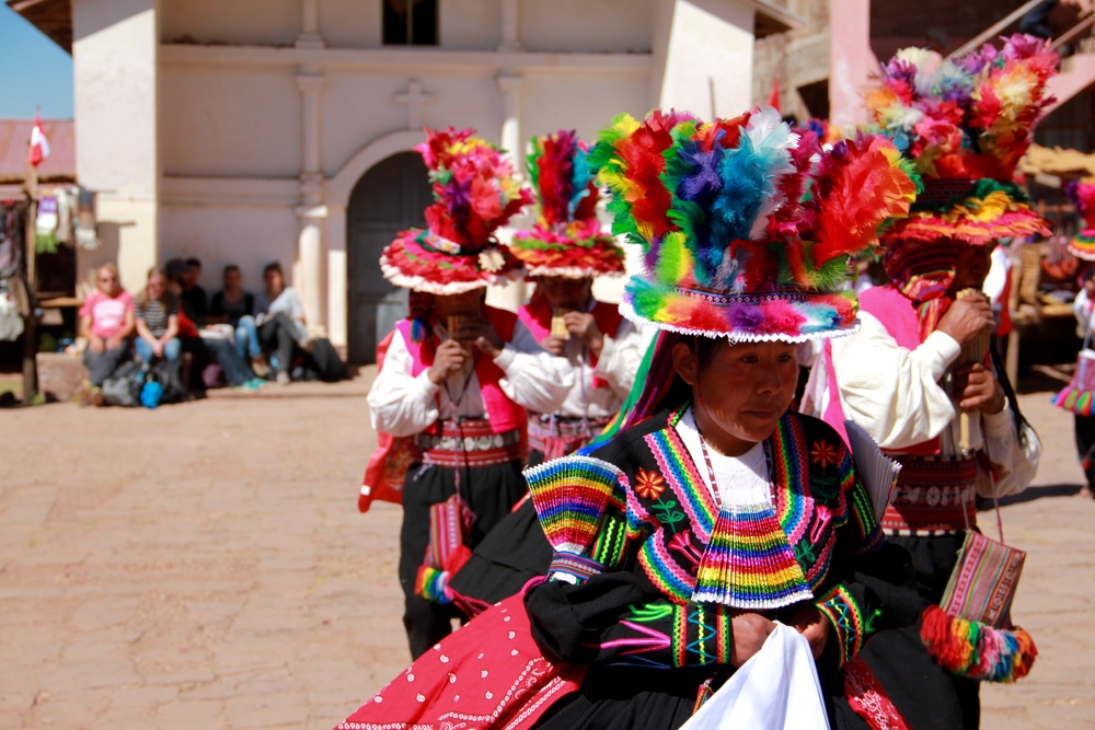 Fiestas Patrias, Isla Taquile - Perù
