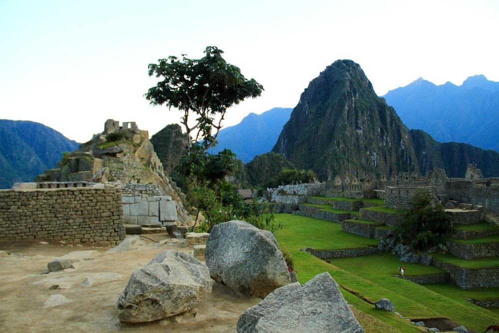 Wayna Picchu e Machu Picchu (città), Perù