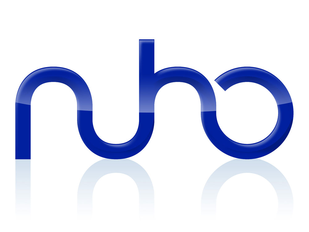 "nuho (from ""new home"" in spanish) identity proposal for a communications, entertainment and home automation integrated service by Telefónica."