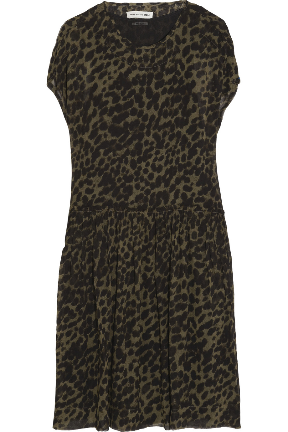 ÉTOILE ISABEL MARANTCalesi leopard-print crepe dress,$485,  net-a-porter.com