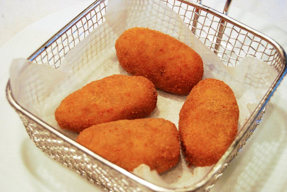 Croquetas de cocido o jamón