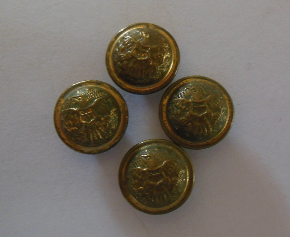 General Service Buttons 1850s to 1902