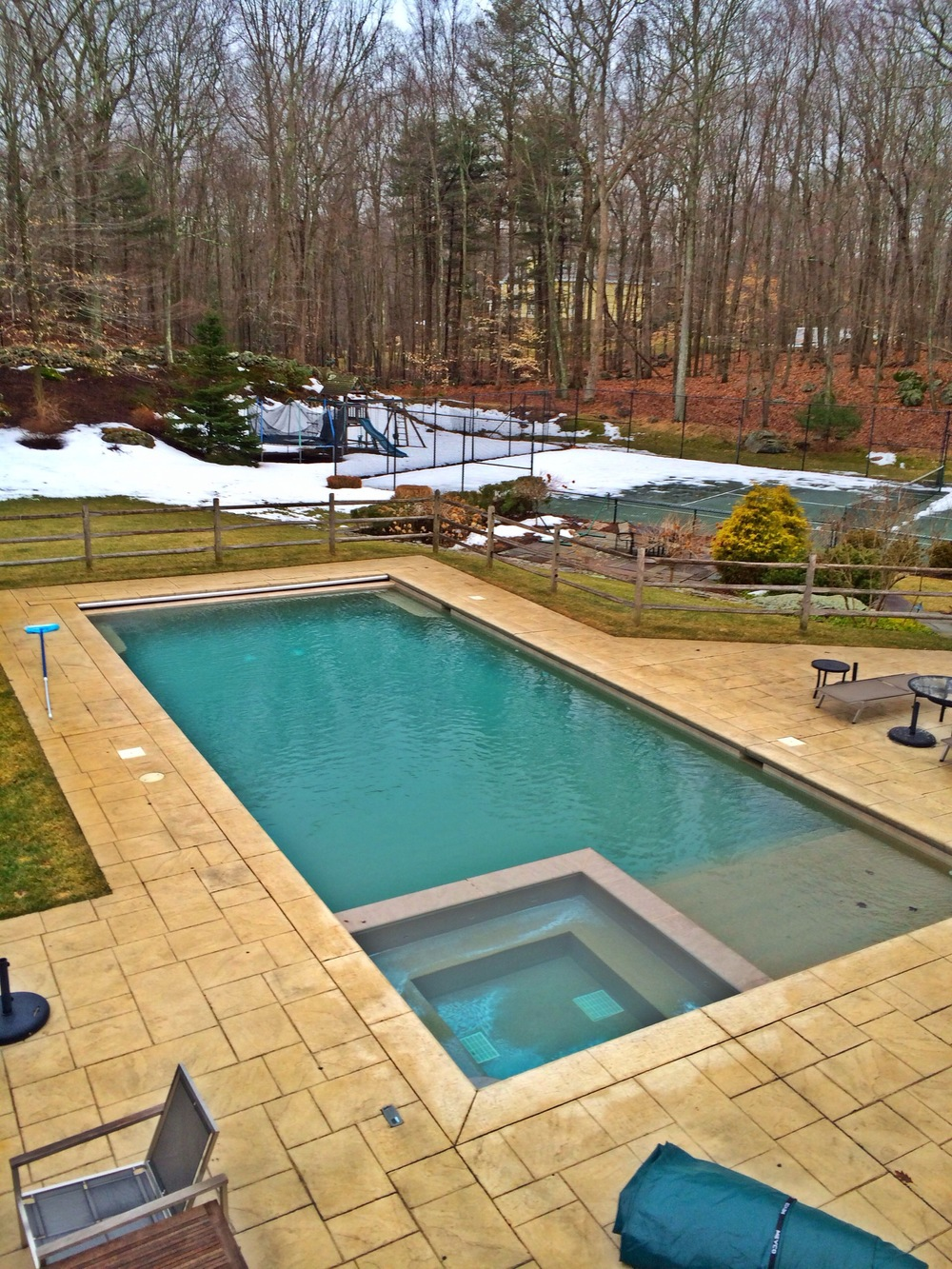 New swimming pool construction in fairfield county ct for Swimming pool construction