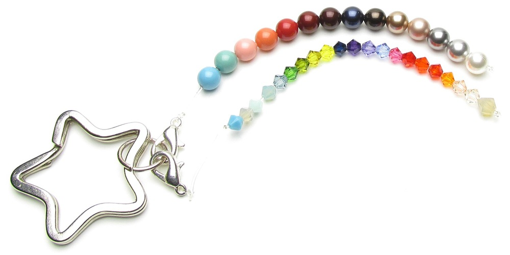 House of Colour spring crystal and pearl colours