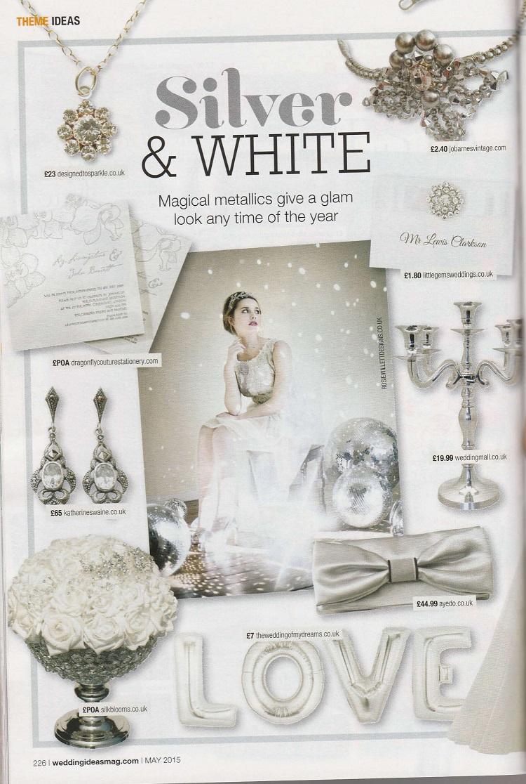 May 2015, wedding jewellery in Wedding Ideas Magazine - Designed to ...