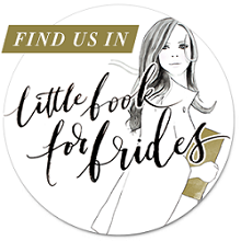Find Us In The Little Book For Brides