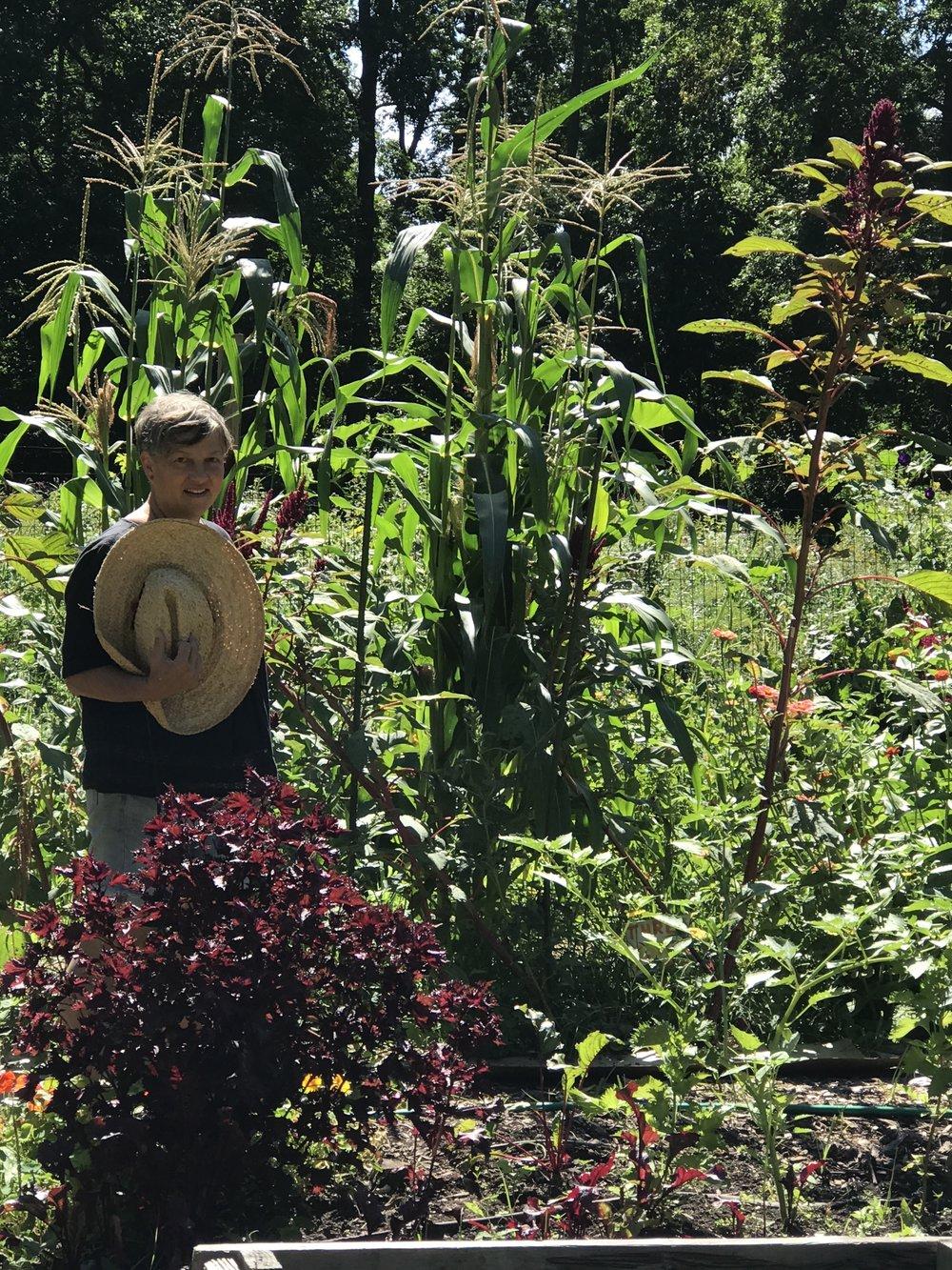Lauren Gill, gardener